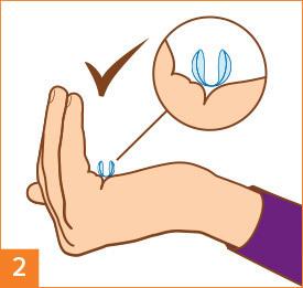 Étape2: Préparez vos lentilles de contact