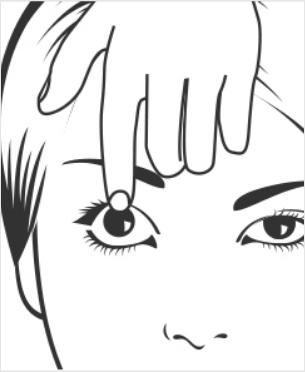 Enlever lentilles de contact