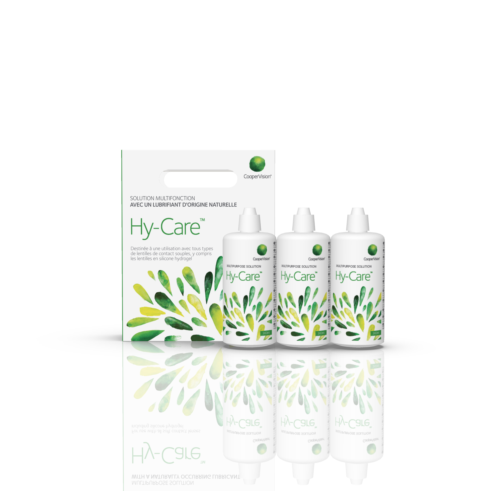 Hy-Care solution contact lens clearing decontamination nettoyage lentilles contact désinfection hyaluronique