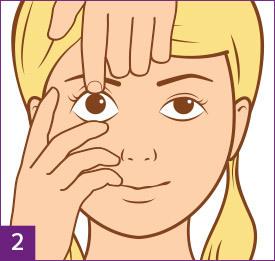 Étape2: Préparez-vous à enlever vos lentilles de contact