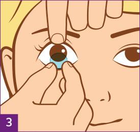 Étape3:Retirez vos lentilles de contact