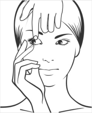 Retirer ses lentilles