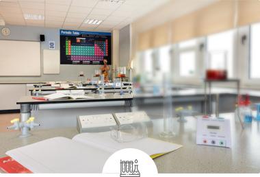 Laboratoire de sciences de l'école