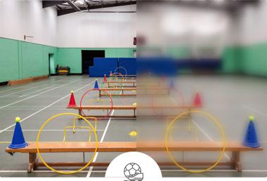 Salle de sports de l'école