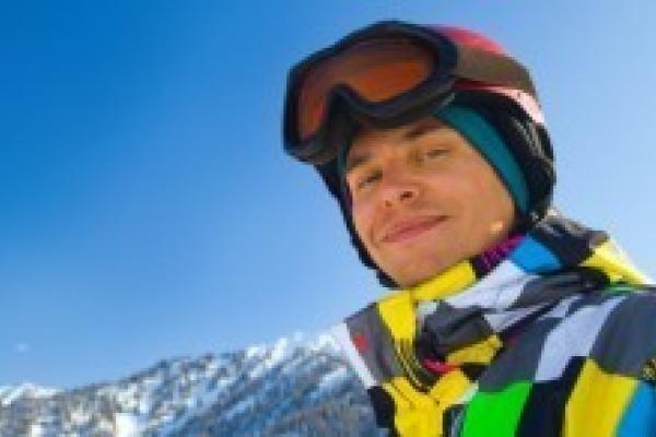 Sports d'hiver et lentilles de contact