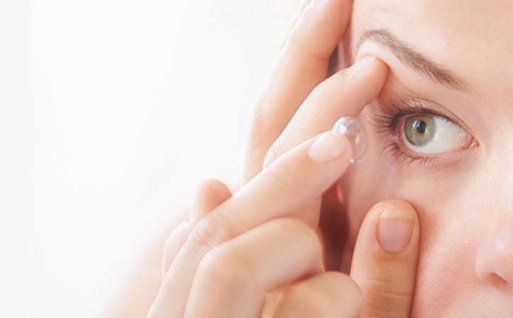 Les lentilles de contact et le COVID 19
